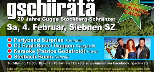 gschiirätä | 20 Jahre Stockberg-Schränzer