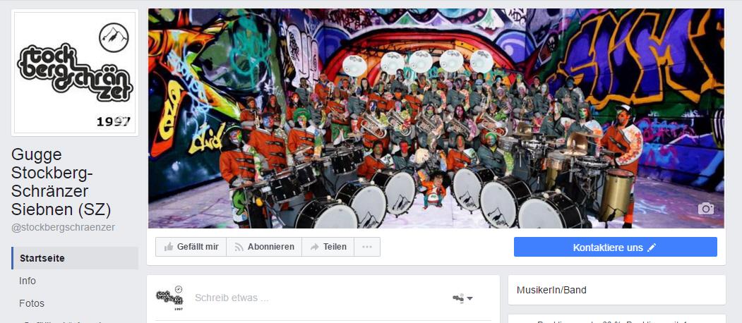 Facebook Seite Stockberg-Schränzer