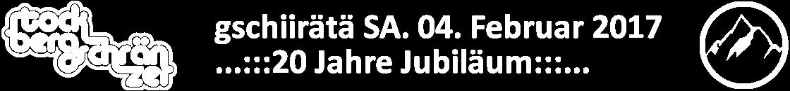 Gugge Stockberg-Schränzer Siebnen